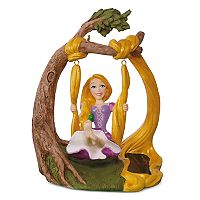 Disney's Tangled Rapunzel In the Swing Solar Motion 2017 Hallmark Keepsake Christmas Ornament