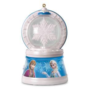 Disney's Frozen Elsa's Magic Snowflake Light-Up Musical 2017 Hallmark Keepsake Christmas Ornament