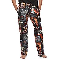 Men's Star Wars Movie Scene Microfleece Lounge Pants