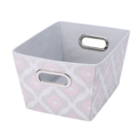 The Macbeth Collection Closet Candie Ikat Grommet Storage Tote