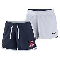 Women's Nike Dri-FIT Boston Red Sox Reversible Mesh Shorts