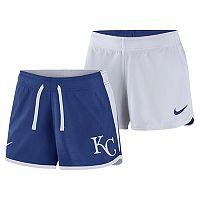 Women's Nike Dri-FIT Kansas City Royals Reversible Mesh Shorts