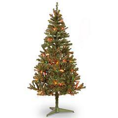 National Tree Company 6-ft. Pre-Lit Canadian Grande Fir Artifical Christmas Tree