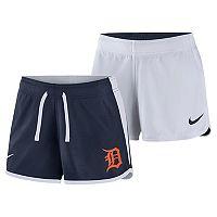 Women's Nike Dri-FIT Detroit Tigers Reversible Mesh Shorts