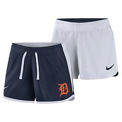 Women's Nike Dri-FIT Detroit Tigers Reversible Mesh Shorts