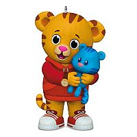 Daniel Tiger's Neighborhood Daniel & Tigey 2017 Hallmark Keepsake Christmas Ornament