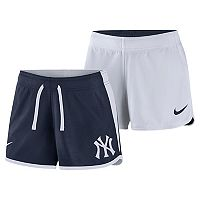 Women's Nike Dri-FIT New York Yankees Reversible Mesh Shorts