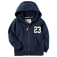Toddler Boy Carter's Fleece Zip Hoodie