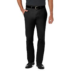 Men's Haggar Coastal Comfort Slim-Fit Stretch Flat-Front Chino Pants