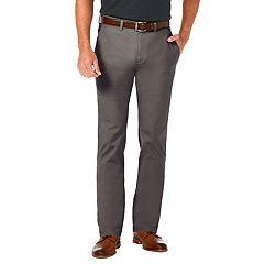 Men's Haggar Coastal Comfort Slim-Fit Stretch Flat-Front Chino Pants