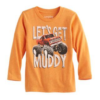 "Toddler Boy Jumping Beans® ""Let's Get Muddy"" Monster Truck Long-Sleeve Tee"