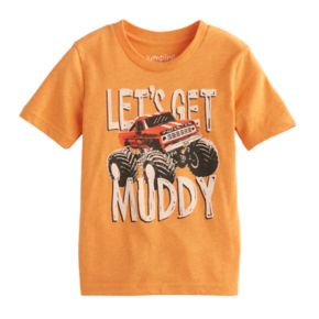 "Toddler Boy Jumping Beans® ""Let's Get Muddy"" Monster Truck Short-Sleeve Tee"