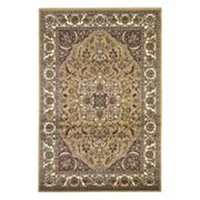 KAS Rugs Cambridge Kashan Framed Medallion Rug