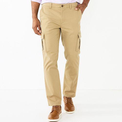 Men's SONOMA Goods for Life™ Regular-Fit Flexwear Stretch Cargo Pants