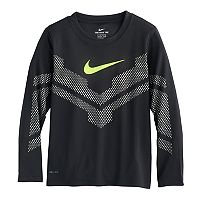 Boys 4-7 Nike Reflective Mesh Dri-FIT Tee