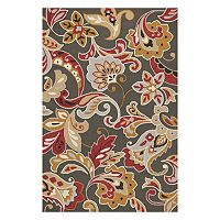 KAS Rugs Harbor Flora Indoor Outdoor Rug
