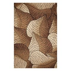 KAS Rugs Horizon Fauna Leaf Indoor Outdoor Rug