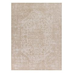 KAS Rugs Retreat Rania Nature's Element Framed Floral Rug