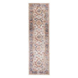KAS Rugs Seville Tabriz Framed Floral Rug