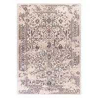 KAS Rugs Bob Mackie Home Vintage Marrakesh Framed Floral Rug