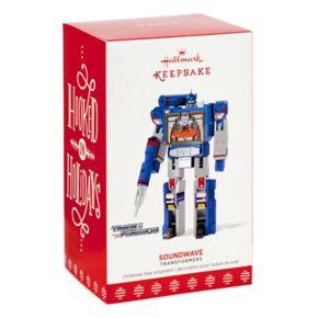 Transformers Soundwave 2017 Hallmark Keepsake Christmas Ornament