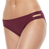 Women's Apt. 9® Strappy Hipster Bikini Bottoms