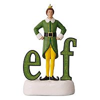 Buddy the Elf Sound 2017 Hallmark Keepsake Christmas Ornament