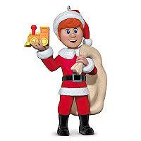 Santa Claus Is Comin' to Town Kris Kringle 2017 Hallmark Keepsake Christmas Ornament