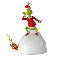 Dr. Seuss's How the Grinch Stole Christmas! Welcome Christmas Musical 2017 Hallmark Keepsake Christmas Ornament