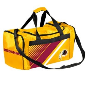 Forever Collectibles Washington Redskins Striped Duffle Bag