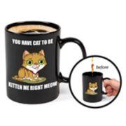 BigMouth Inc. Color-Changing Kitten Mug