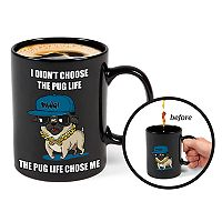 BigMouth Inc. Color Changing Pug Mug