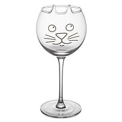 BigMouth Inc. Purrfect Pour Cat Wine Glass
