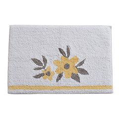 One Home Taylor Floral Bath Rug