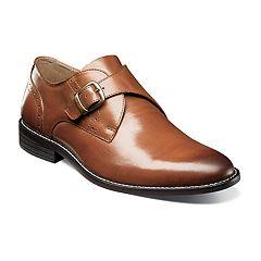 Nunn Bush Sabre Men's Plain Toe Monk Strap Dress Shoes