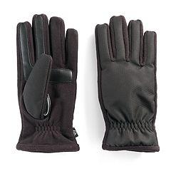 Men's isotoner Matrix smartTouch Gloves