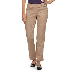 Women's Croft & Barrow® Perfectly Slimming Straight-Leg Pants