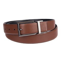 Men's Apt. 9® Reversible Feather-Edge Stretch Belt