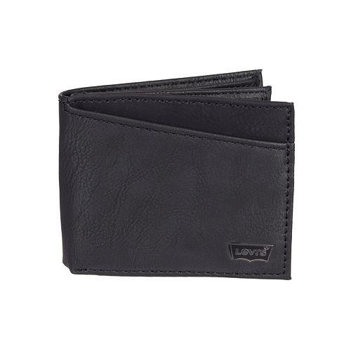 Men's Levi's® RFID-Blocking Extra-Capacity Slimfold Wallet