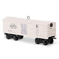 Lionel 3472 Automatic Refrigerated Milk Car 2017 Hallmark Keepsake Christmas Ornament