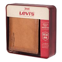 Men's Levi's® RFID-Blocking Extra-Capacity Slimfold Wallet