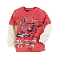 Toddler Boy Carter's Mock-Layer Graphic Tee