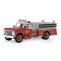 Fire Brigade 1979 Ford F-700 Fire Engine Light-Up 2017 Hallmark Keepsake Christmas Ornament