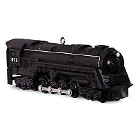 Lionel Trains 671 S-2 Turbine Steam Locomotive 2017 Hallmark Keepsake Christmas Ornament