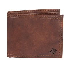 Men's Columbia Genuine Leather Extra-Capacity Slimfold Wallet