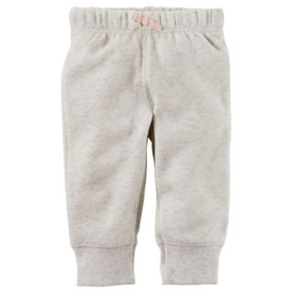 Baby Girl Carter's Solid Fleece Pants