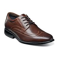 Nunn Bush Decker Men's Wingtip Oxford Dress Shoes
