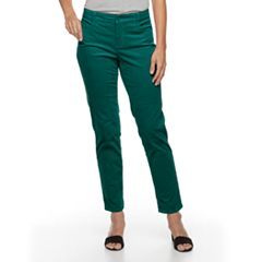 Women's Croft & Barrow® Tummy-Slimming Straight-Leg Corduroy Pants