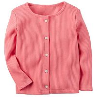 Toddler Girl Carter's Ribbed Cardigan