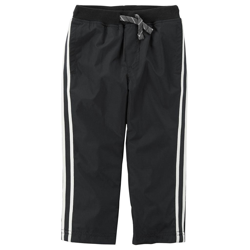 Toddler Boy Carter's Matte Woven Athletic Pants